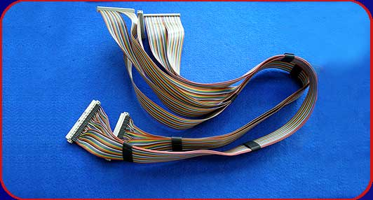 multiple ribbon cable assembly